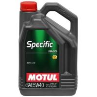 Синтетическое моторное масло Motul Specific CNG/LPG 5W-40 (5 л), 3134, Motul, Моторное масло