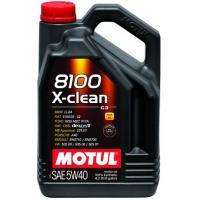 Синтетическое моторное масло Motul 8100 X-Clean 5W-40 (4 л), 3145, Motul, Моторное масло