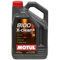 Синтетическое моторное масло Motul 8100 X-Clean+ 5W-30 (5 л), 3162, Motul, Моторное масло