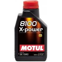 Синтетическое моторное масло Motul 8100 X-power 10W-60 (1 л), 3130, Motul, Моторное масло