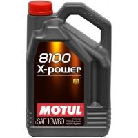 Синтетическое моторное масло Motul 8100 X-power 10W-60 (4 л), 3131, Motul, Моторное масло
