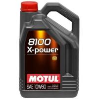 Синтетическое моторное масло Motul 8100 X-power 10W-60 (5 л), 3132, Motul, Моторное масло