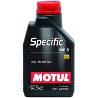Синтетическое моторное масло Motul SPECIFIC 948B 5W-20 (1 л), 3345, Motul, Моторное масло
