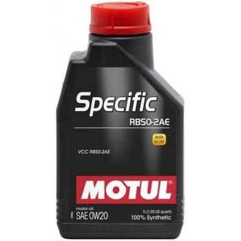 Синтетическое моторное масло Motul SPECIFIC RBS0-2AE 0W-20 (1 л)