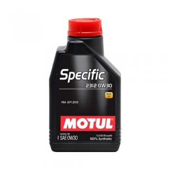 Синтетическое моторное масло Motul SPECIFIC 2312 0W-30 (1 л)