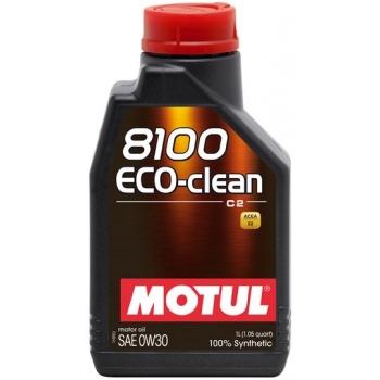 Синтетическое моторное масло Motul 8100 Eco-Clean 0W-30 (1 л)