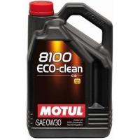 Синтетическое моторное масло Motul 8100 Eco-Clean 0W-30 (5 л), 3139, Motul, Моторное масло