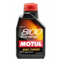 Синтетическое моторное масло Motul 8100 Eco-nergy 0W-30 (1 л), 3116, Motul, Моторное масло