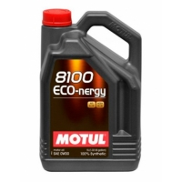 Синтетическое моторное масло Motul 8100 Eco-nergy 0W-30 (5 л), 3117, Motul, Моторное масло