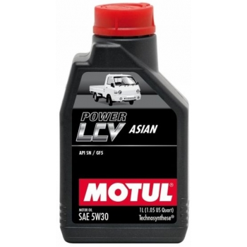 Моторное масло Motul POWER LCV ASIAN 5W-30 (1 л)