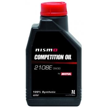 Синтетическое моторное масло Motul NISMO COMPETITION OIL 2108E 0W-30 (1 л)