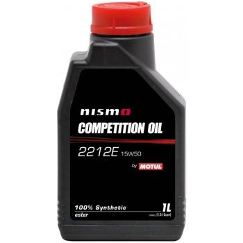 Синтетическое моторное масло Motul NISMO COMPETITION OIL 2212E 15W-50 (1 л)