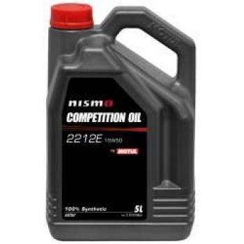 Синтетическое моторное масло Motul NISMO COMPETITION OIL 2212E 15W-50 (5 л)