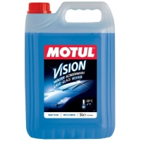 Готовая к применению жидкость омывателя Motul Vision Winter -20°C (5 л)