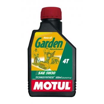 Масло для садовой техники Motul Garden 4T SAE 5W30 (0,6 л)