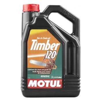Масло для цепей бензопил Motul Timber SAE 120 (5 л)