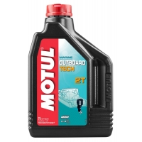 Масло для 2-х тактных лодочных моторов Motul Outboard Tech 2T (2 л), 4762, Motul, Лодочная программа
