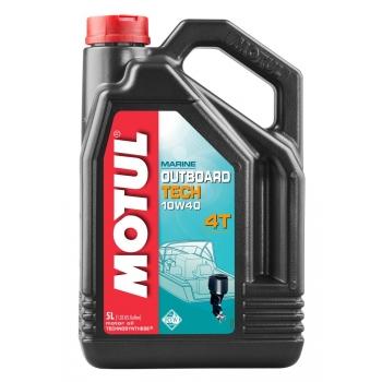Масло для 4-х тактных лодочных моторов Motul Outboard Tech 4T SAE 10W40 (5 л)