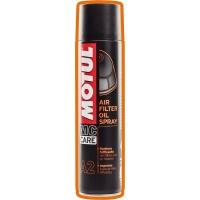 Масло для пропитки воздушных фильтров Motul A2 Air Filter Oil Spray (0,4 л), 4708, Motul, Мото программа