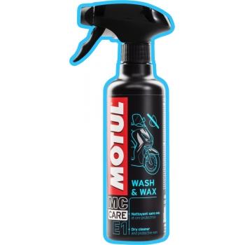 Средство для мытья и полировки мотоциклов Motul E1 Wash & Wax (400 мл)