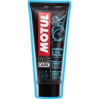 Средство для придания блеска мотоциклу Motul E6 Chrome & Alu Polish (100 мл), 4726, Motul, Мото программа