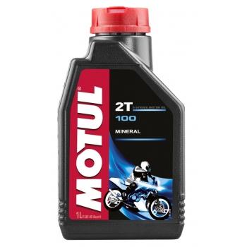 Масло для 2-тактных двигателей Motul 100 2T (1 л)