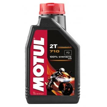 Масло для 2-тактных двигателей Motul 710 2T (1 л)