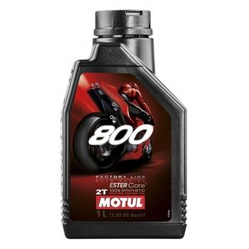 Масло для 2-тактных двигателей Motul 800 2T Factory Line Road Racing (1 л)