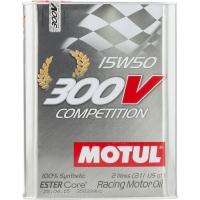 Спортивное моторное масло Motul 300V Competition 15W-50 (2 л), 4424, Motul, Моторное масло
