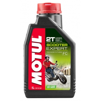 Масло для 2-тактных скутеров Motul Scooter Expert 2T (1 л)