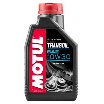 Трансмиссионное масло для мотоциклов Motul Transoil 10W30 (1 л)