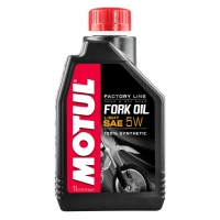 Вилочное масло Motul Fork Oil Light Factory Line SAE 5W (1 л), 4657, Motul, Мото программа