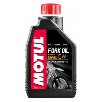Вилочное масло Motul Fork Oil Light Factory Line SAE 5W (1 л)