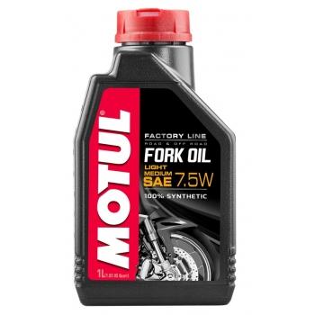 Вилочное масло Motul Fork Oil Light/Medium Factory Line SAE 7,5W (1 л)