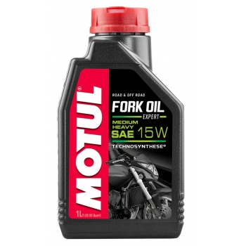 Вилочное масло Motul Fork Oil Expert Medium/Heavy SAE 15W (1 л)