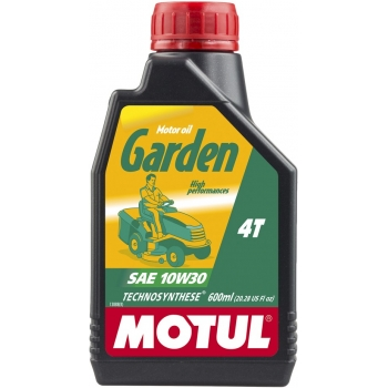 Масло для садовой техники Motul Garden 4T SAE 10W30 (0,6 л)