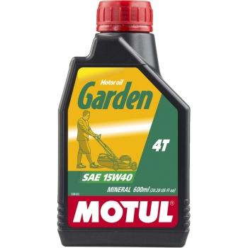 Масло для садовой техники Motul Garden 4T SAE 15W40 (0,6 л)