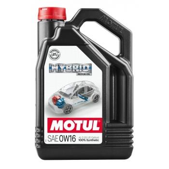 Моторное масло Motul Hybrid 0W-16 (4 л)