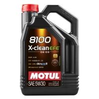 Моторное масло Motul X-Clean EFE 5W-30 (5 л), 5153, Motul, Моторное масло