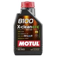 Моторное масло Motul X-Clean EFE 5W-30 (1 л), 5152, Motul, Моторное масло