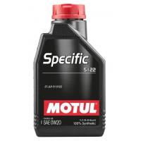 Моторное масло Motul Specific 5122 0W-20 (1 л), 4582, Motul, Моторное масло