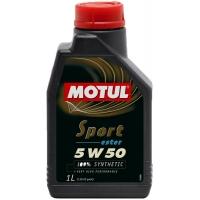 Спортивное моторное масло Motul Sport 5W-50 (1 л), 4539, Motul, Моторное масло