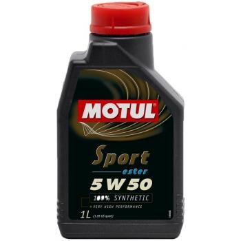 Спортивное моторное масло Motul Sport 5W-50 (1 л)