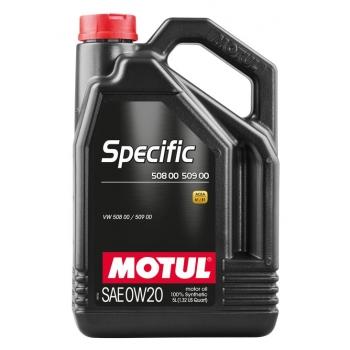 Моторное масло Motul Specific 508 00 509 00 0W-20 (5 л)