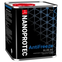 Антифриз Nanoprotec Antifreeze BLUE -80 (1 л)
