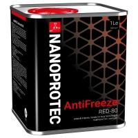 Антифриз Nanoprotec Antifreeze RED -80 (1 л), 1715, Nanoprotec, Охлаждающая жидкость