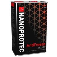 Антифриз Nanoprotec Antifreeze RED -80 (4 л), 1716, Nanoprotec, Охлаждающая жидкость