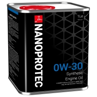 Синтетическое моторное масло Nanoprotec 0W-30 Engine Oil (1 л), 1695, Nanoprotec, Моторное масло