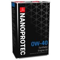Синтетическое моторное масло Nanoprotec 0W-40 Engine Oil (4 л), 1698, Nanoprotec, Моторное масло