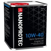 Полусинтетическое моторное масло Nanoprotec 10W-40 Engine Oil (1 л), 1691, Nanoprotec, Моторное масло